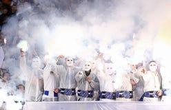 Украинская премьер-лига: Динамомашина Kyiv v Shakhtar Стоковые Изображения