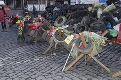 Украинская революция Стоковая Фотография RF
