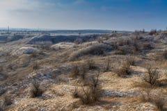 Украинская степь Стоковые Изображения RF