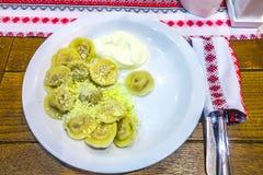 Украинская традиционная кухня 08 стоковая фотография rf