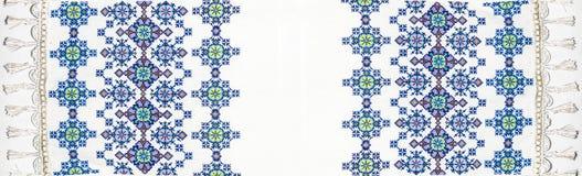 Украинская фольклорная вышивка Стоковое Фото