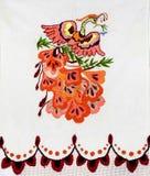 Украинская фольклорная вышивка Стоковые Фотографии RF