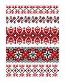 Украинская часть 10 вектора орнамента Стоковые Изображения RF