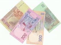 Украинские банкноты стоковая фотография rf