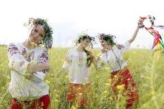 Украинские женщины Стоковые Изображения
