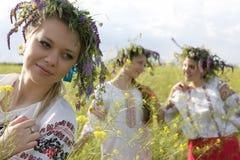 Украинские женщины Стоковое Изображение RF
