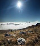 Украинские крымские горы Стоковые Изображения