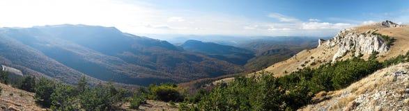 Украинские крымские горы Стоковые Изображения RF