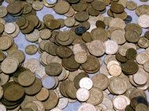 Украинские монетки обменом Стоковое Изображение