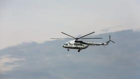 Украинский воинский вертолет Mi-8 Стоковые Изображения