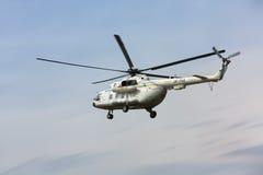 Украинский воинский вертолет Mi-8 Стоковое Фото