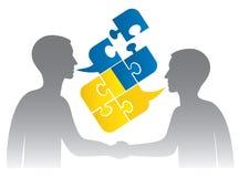Украинский диалог иллюстрация вектора