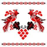 Украинский национальный орнамент Стоковое Фото
