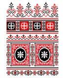 Украинский национальный орнамент Стоковые Изображения RF