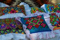 Украинский национальный handmade перекрестный стежок Стоковое фото RF