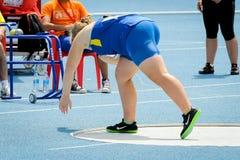 Украинский спортсмен Стоковые Фотографии RF