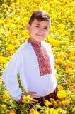 Украинский школьник Стоковая Фотография RF