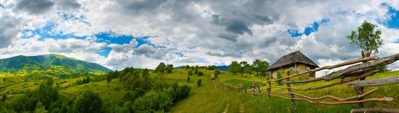 Украинское село Стоковые Изображения