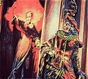 Украин, Киев Изображение, человек в античных одеждах Иллюстрация штока