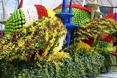 украсьте цветки Стоковая Фотография RF