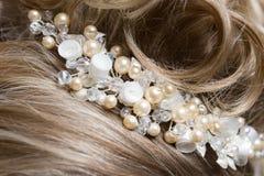 украшать волос девушки Стоковое Фото