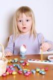 украшать пасхальные яйца Стоковая Фотография RF