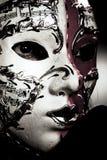 украшать портреты маски Стоковое Изображение