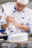 украшать торта Стоковое Фото