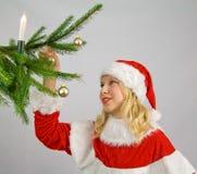 украшать christmastree Стоковое Изображение