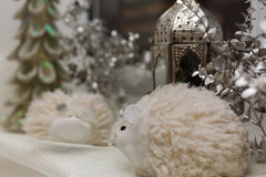 Украшение ламп-фонарика рождества Стоковые Изображения RF