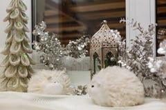 Украшение ламп-фонарика рождества Стоковые Фотографии RF