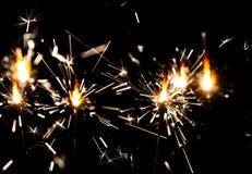 Украшение бенгальского огня праздника и дня рождения Света Бенгалии Праздничное яркое Предпосылка с бенгальским огнем Бенгальский стоковая фотография rf