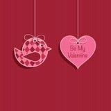 Украшение валентинки иллюстрация штока