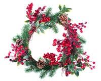 Украшение венка рождества стоковые изображения