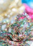 Украшение ветви ели рождества искусственное Стоковое Изображение RF