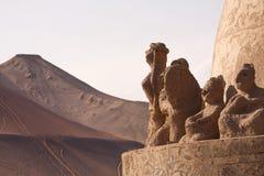 Украшение виска в древнем городе Turpan Стоковое Фото
