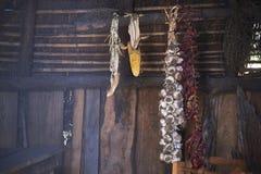 Украшение внутри Mapuche Ruca стоковая фотография rf