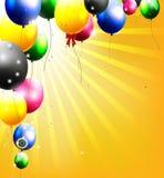 Украшение воздушных шаров для вас дизайн бесплатная иллюстрация