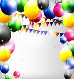 Украшение воздушных шаров для вас дизайн иллюстрация вектора
