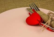 Украшение влюбленности валентинок Стоковые Изображения RF