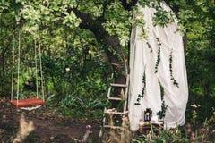 Украшение для свадьбы стоковые изображения rf