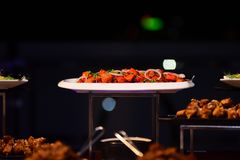 Украшение еды для всех функций Стоковые Фото