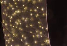 украшение звезды рождества на рынке Стоковое фото RF