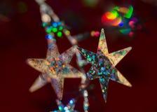 Украшение звезды рождества Стоковая Фотография RF