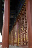 Украшение зданий Пекина Китая виска Temple of Heaven Tiantan Daoist eligious Стоковое Фото