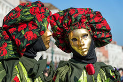 украшение известная Италия масленицы маскирует традиционное venezia venice Стоковая Фотография
