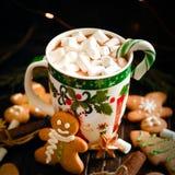 Украшение и предпосылка для Нового Года и рождества Стоковые Изображения