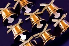 Украшение колокола рождественской елки Стоковое Изображение
