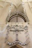 Украшение косточки церков Kostnice косточки Стоковые Фото