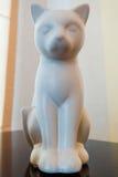 Украшение кота керамическое Стоковое Фото